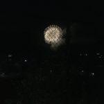養父市関宮ふれあい祭りの花火1